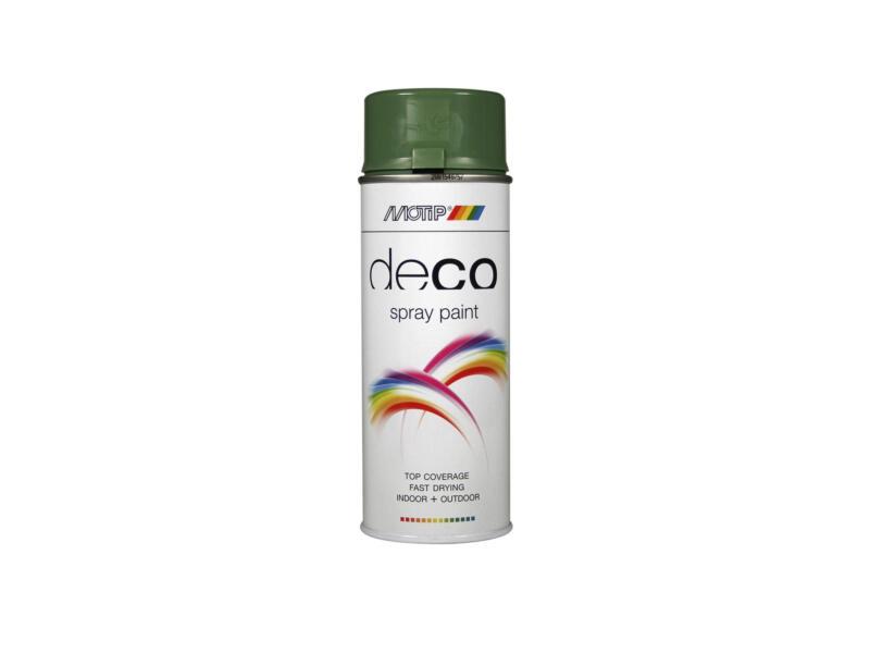 Motip Deco laque en spray brillant 0,4l vert réséda