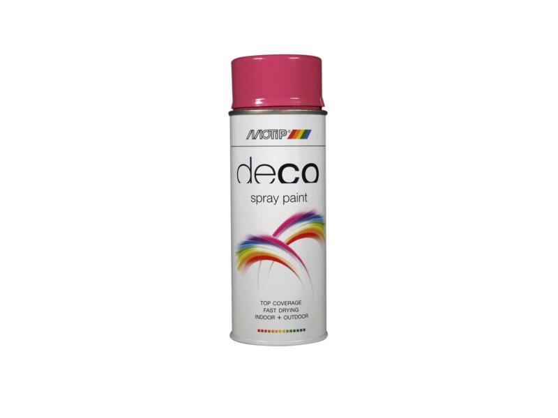 Motip Deco laque en spray brillant 0,4l violet bruyère