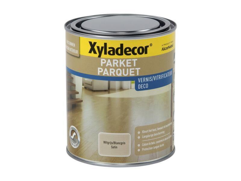 Xyladecor Deco vitrificateur parquet satin 0,75l blanc gris