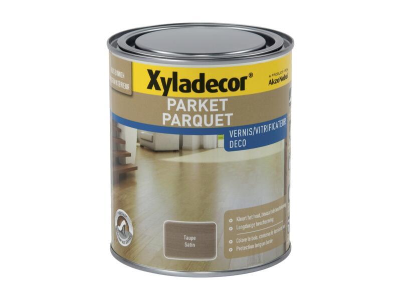 Xyladecor Deco vitrificateur parquet satin 0,75l taupe