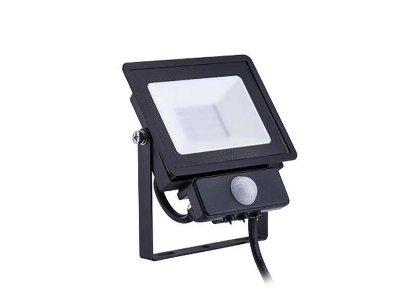 Philips Decoflood LED straler 20W zwart met sensor