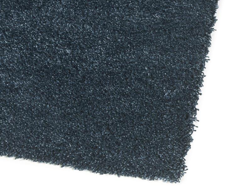 Delight Cosy tapis 80x150 cm bleu pétrole