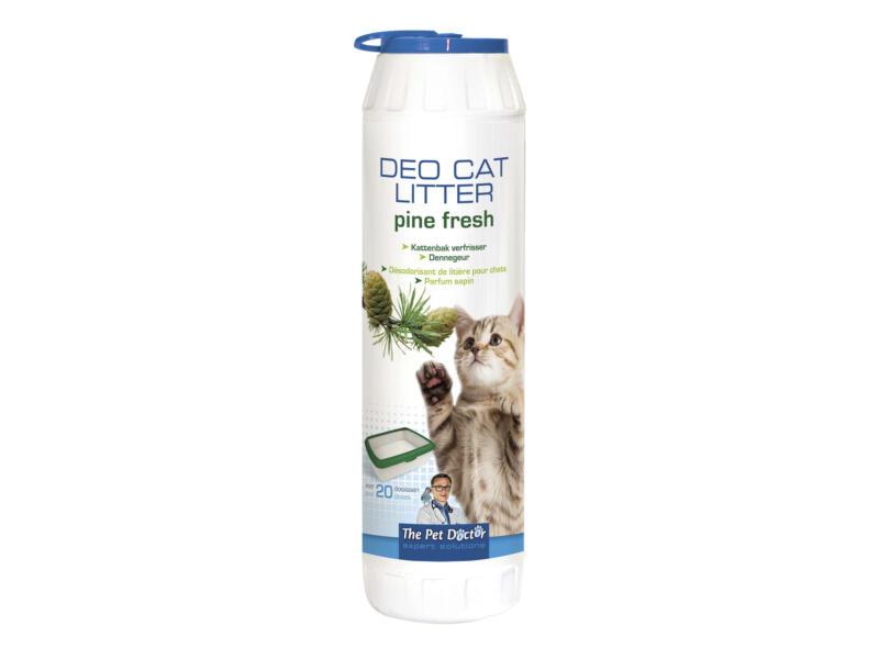 Désodorisant litière de chat 750g pine fresh
