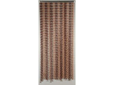 Confortex Deurgordijn Knots 90x200 cm bruin