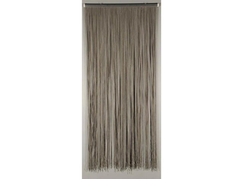 Confortex Deurgordijn Lasso 90x200 cm grijs