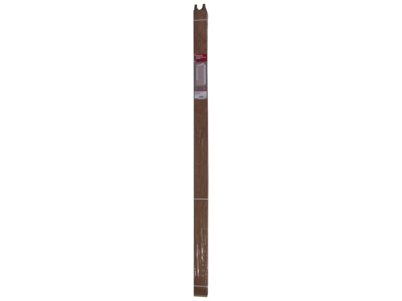 Deurkassement 18x95 mm 213cm hardhout
