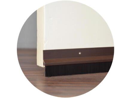 Confortex Deurstrip met borstel 1m 6,5cm bruin