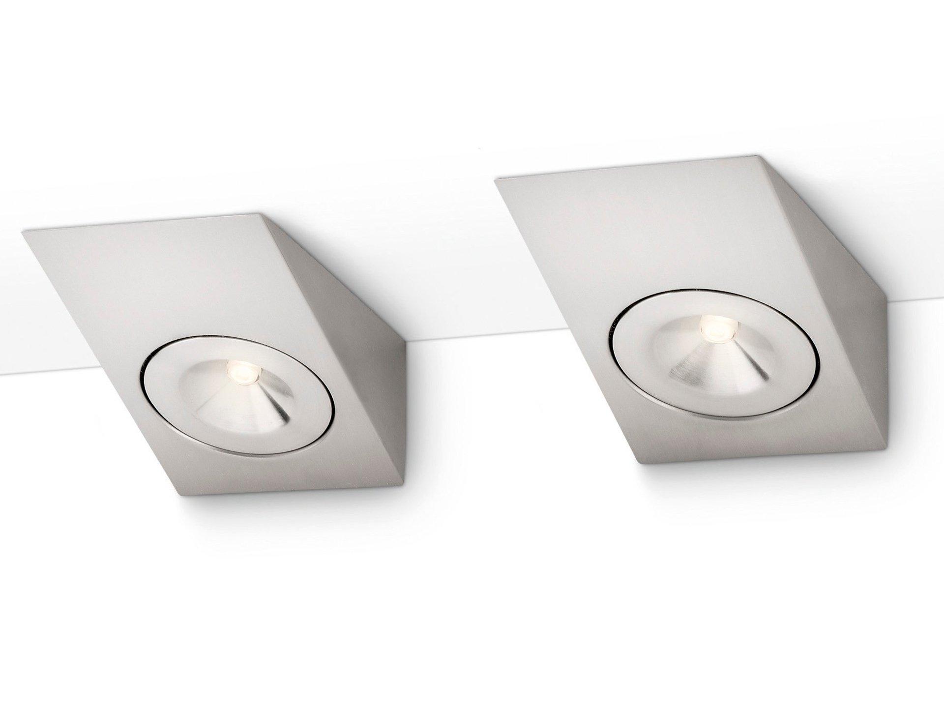 philips devine led keukenkast verlichting 2x25w 200lm chrome mat hubo