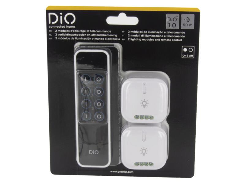 Chacon DiO 1.0 module éclairage 2 pièces + télécommande