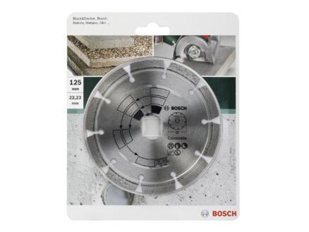 Bosch Diamantschijf beton 125x1,7x22,23x7 mm