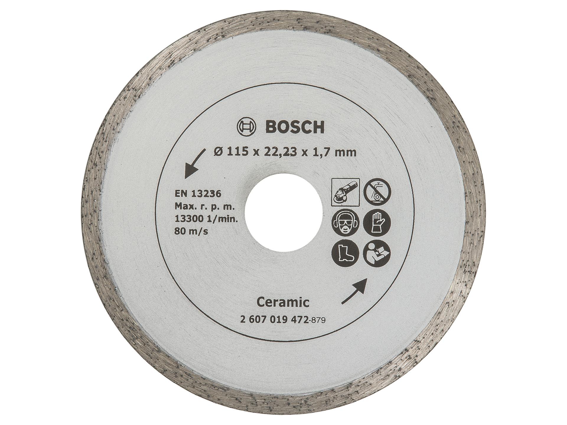 Tegels Den Bosch : Bosch diamantschijf tegels 115mm hubo