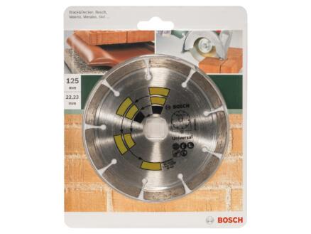 Bosch Diamantschijf universeel 125x1,7x22,23x7 mm