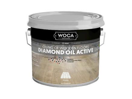 Woca Diamond Oil Active huile parquet 1l blanc