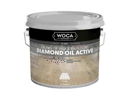Woca Diamond Oil Active huile parquet 1l caramel brown