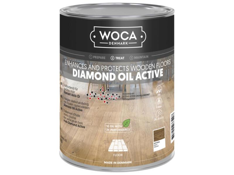 Woca Diamond Oil Active olie hout 250ml naturel