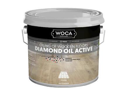 Woca Diamond Oil Active olie hout 250ml wit