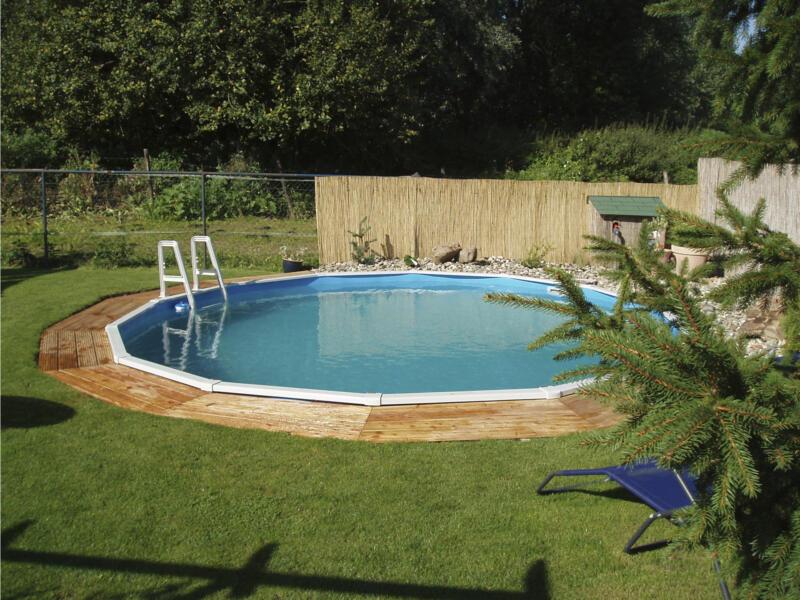 Interline Diana zwembad rond 550x132 cm + accessoires