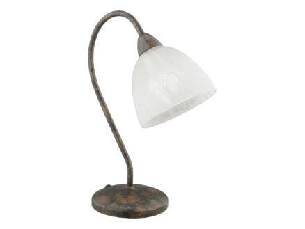 Eglo  Dionis tafellamp E14 40W wit