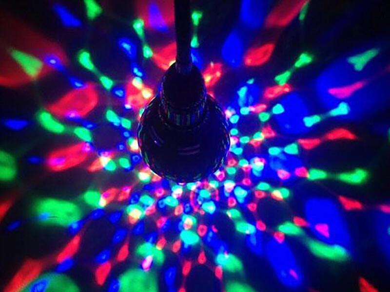 Eglo Disco RGB LED lamp E27 3W