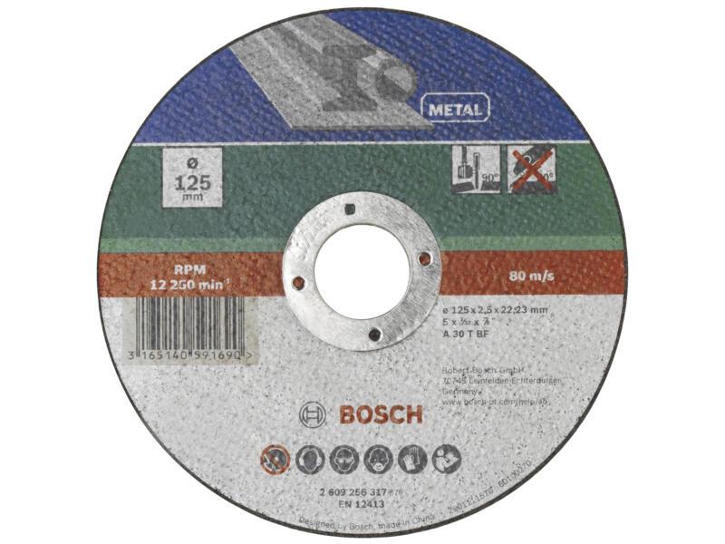 Bosch Disque à tronçonner métal 115x2,5x22,23 mm