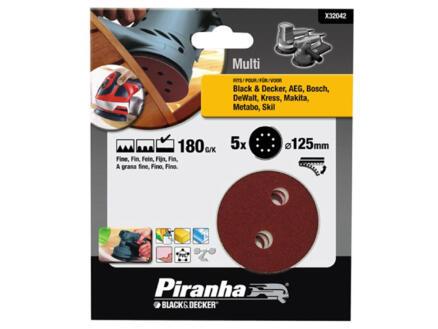 Piranha Disque abrasif excentrique G180 125mm X32042-XJ