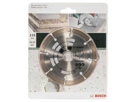 Bosch Disque diamant béton 115x1,7x22,23x7 mm