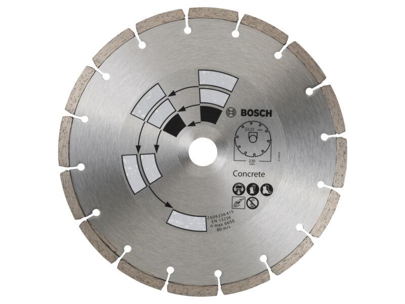 Bosch Disque diamant béton 230x2,4x22,23x7 mm
