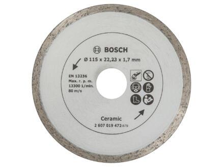 Bosch Disque diamant céramique 115x1,7x22,23 mm