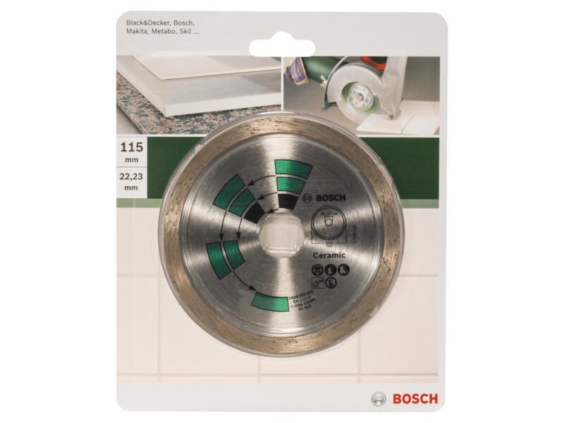 Bosch Disque diamant céramique 115x1,7x22x5,0 mm
