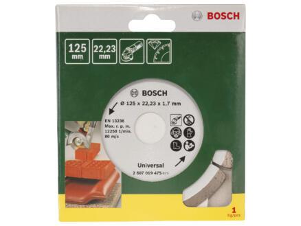 Bosch Disque diamant universel 125x1,7x22,23 mm