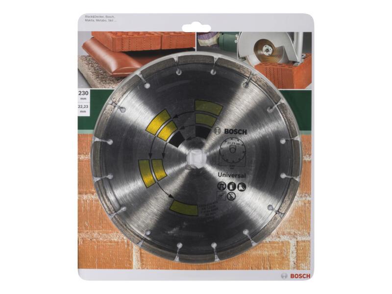 Bosch Disque diamant universel 230x1,7x22,23x7 mm