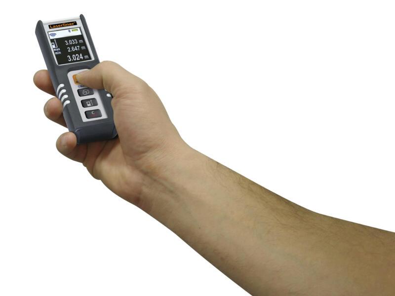Laserliner DistanceMaster Compact Plus laserafstandsmeter 40m