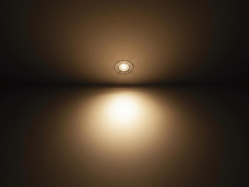 Philips Dive LED inbouwspot reflector 3x5 W dimbaar chroom
