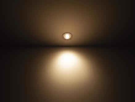 Philips Dive spot LED encastrable 3x5 W dimmable chrome