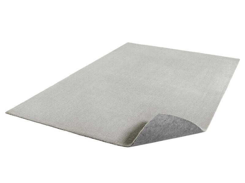 Dolce tapis 120x170 cm gris clair