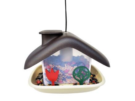 Domek mangeoire oiseaux brun