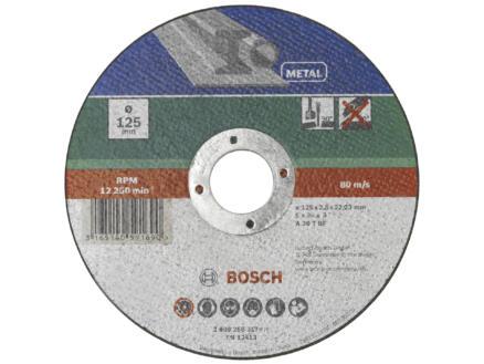 Bosch Doorslijpschijf metaal 115x2,5x22,23 mm