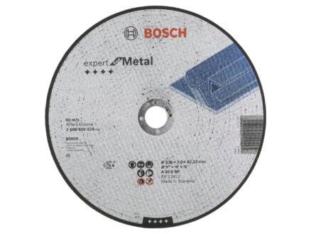 Bosch Professional Doorslijpschijf metaal 230x3x22,23 mm recht