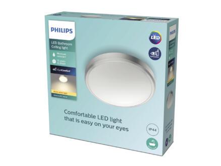Philips Doris applique pour mur ou plafond LED 17W nickel gris