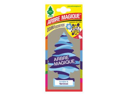 Arbre Magique Double Essence désodorisant jasmin/narcisse