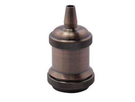 Chacon Douille E27 métallique cuivre