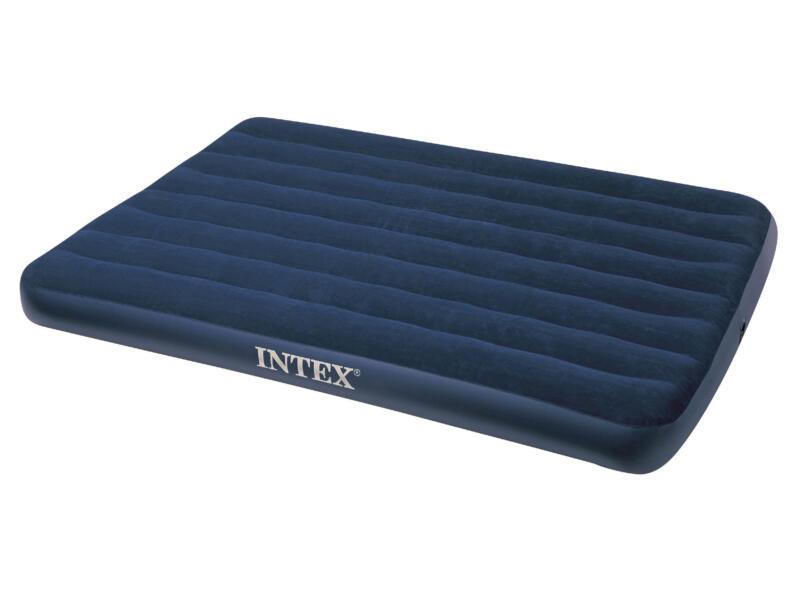 Intex Downy luchtmatras 191x137x22 cm