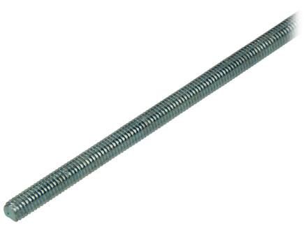 Draadeind M7 1m verzinkt