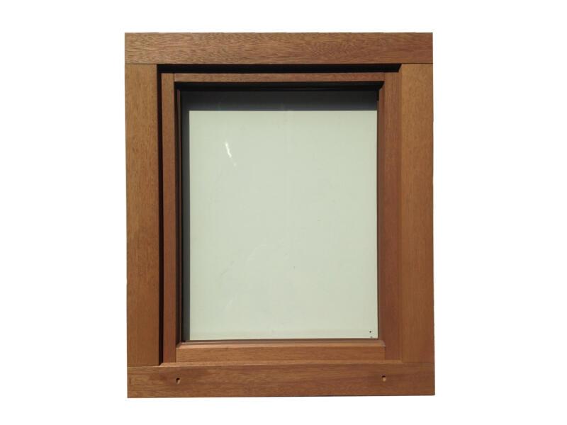 Draaikiepraam links 86x118 cm hout