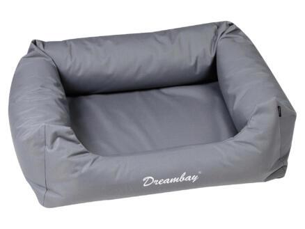 Dreambay panier pour chien 100x80x25 cm gris
