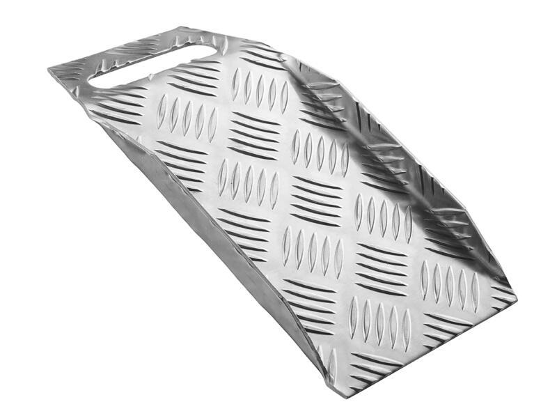 Drempelhulp hoogte verstelbaar 0-100 mm draagbaar aluminium