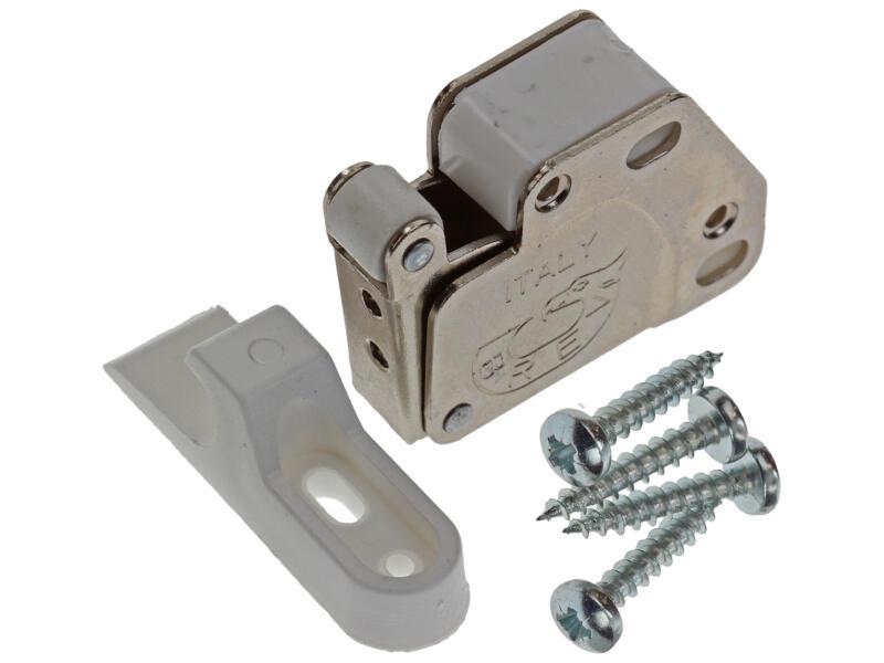 Druksnapper met plaat 26x33x11 mm 1 stuk