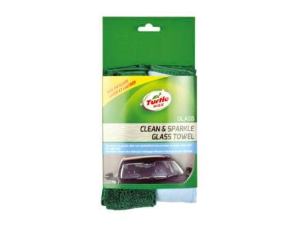 Turtle Wax Dual Action Microvezeldoek voor glas
