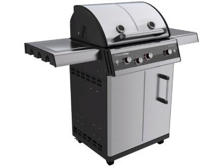 Dualchef 325G barbecue au gaz argent