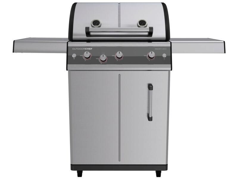 Dualchef 325G gasbarbecue zilver
